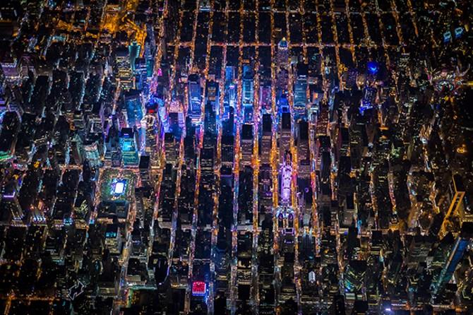 Tuyệt vời bộ ảnh thành phố New York về đêm