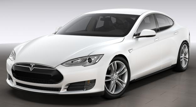 Tesla P85D đánh bại Dodge Challenger trên đường đua