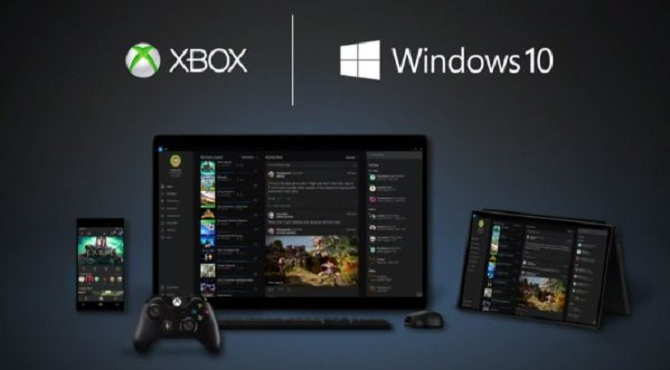 Windows 10 hỗ trợ streaming nội dung game từ Xbox One sang PC hoặc tablet