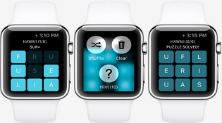 Letterpad: game đầu tiên dành cho Apple Watch