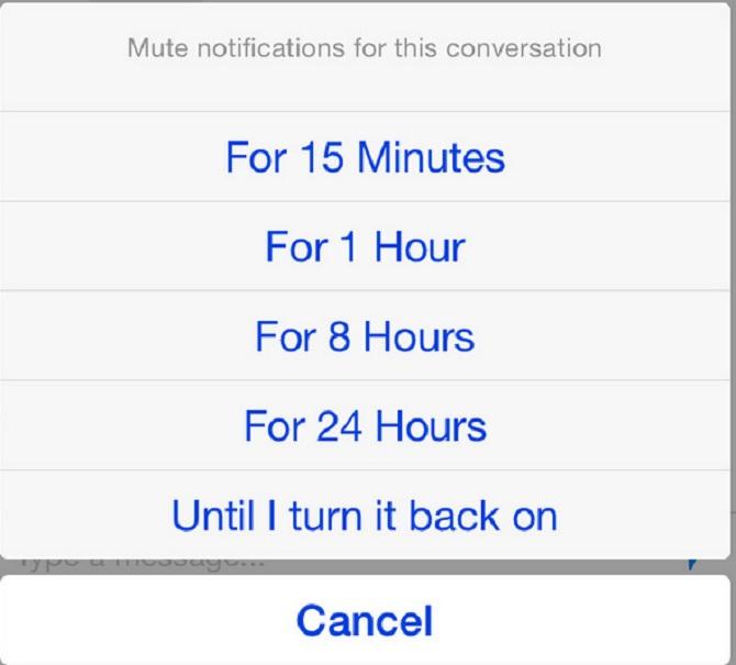 Làm cách nào để chặn âm thanh thông báo Facebook Messenger trên iPhone 6, iPhone 6 Plus?