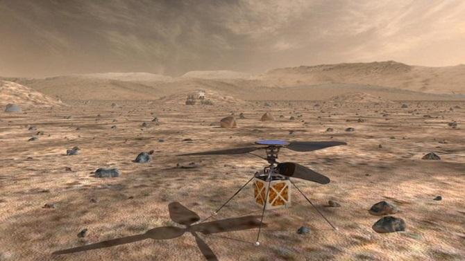 NASA nghiên cứu phát triển trực thăng thám hiểm Sao Hỏa
