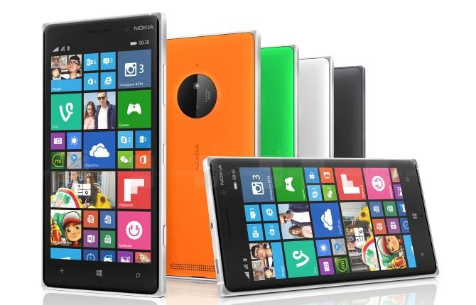 Thiết bị kế nhiệm Lumia 830 có màn hình 5 inch camera sau 8.7MP
