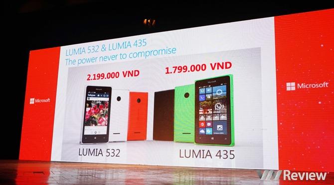 Microsoft Lumia 435 và Lumia 532 giá 1,8 và 2,2 triệu đồng ...