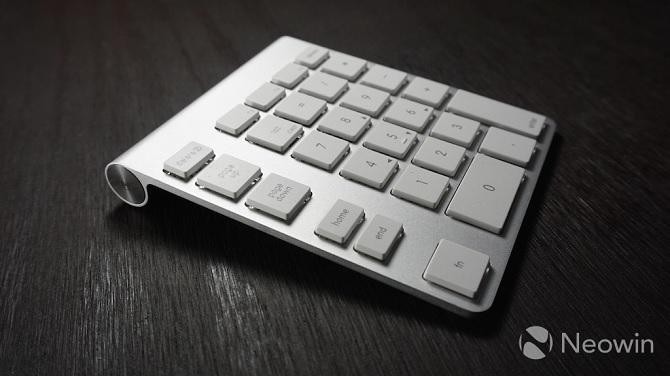 Cận cảnh bàn phím Wireless Aluminum Keypad dành cho Macbook Air, Macbook Pro, iMac, Mac Pro