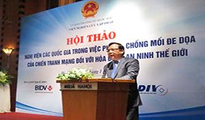 Việt Nam cần chủ động đối phó với chiến tranh mạng