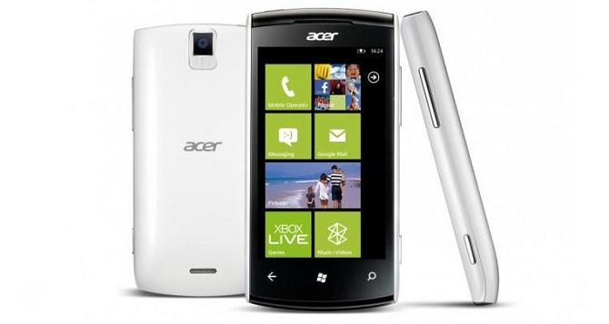 Acer xác nhận sẽ ra mắt điện thoại Windows Phone mới trong tháng Ba