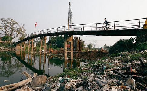"""Danh sách """"làng ung thư"""" do nguồn nước ô nhiễm nặng"""