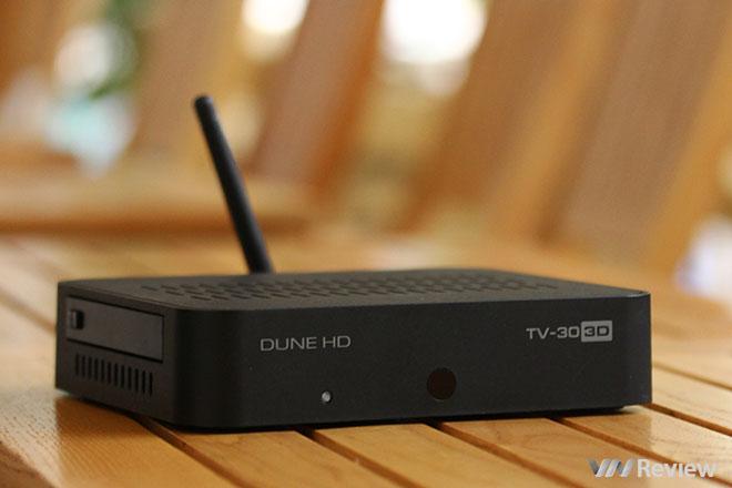 Đánh giá nhanh đầu phát Dune TV-30 3D