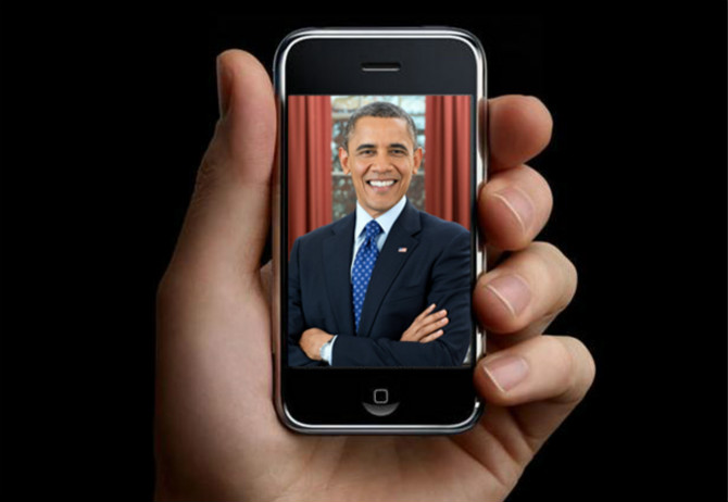 Tổng thống Obama là fan đầu tiên của iPhone?