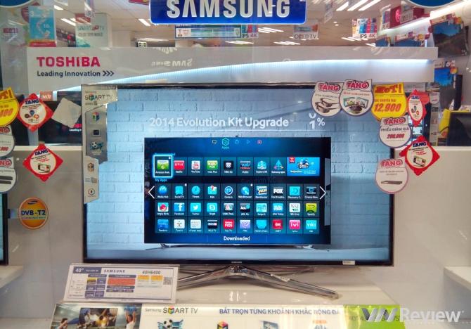TV Samsung nghe lén