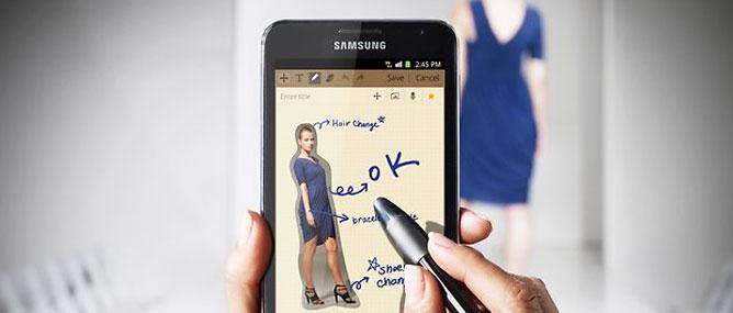 """Samsung Galaxy Note """"lên đời"""" Android 4.0"""