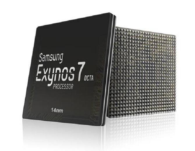 Samsung bắt đầu sản xuất chip Exynos 7 Octa theo quy trình 14nm