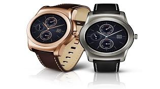 Ảnh thực tế đồng hồ mặt kim loại của LG