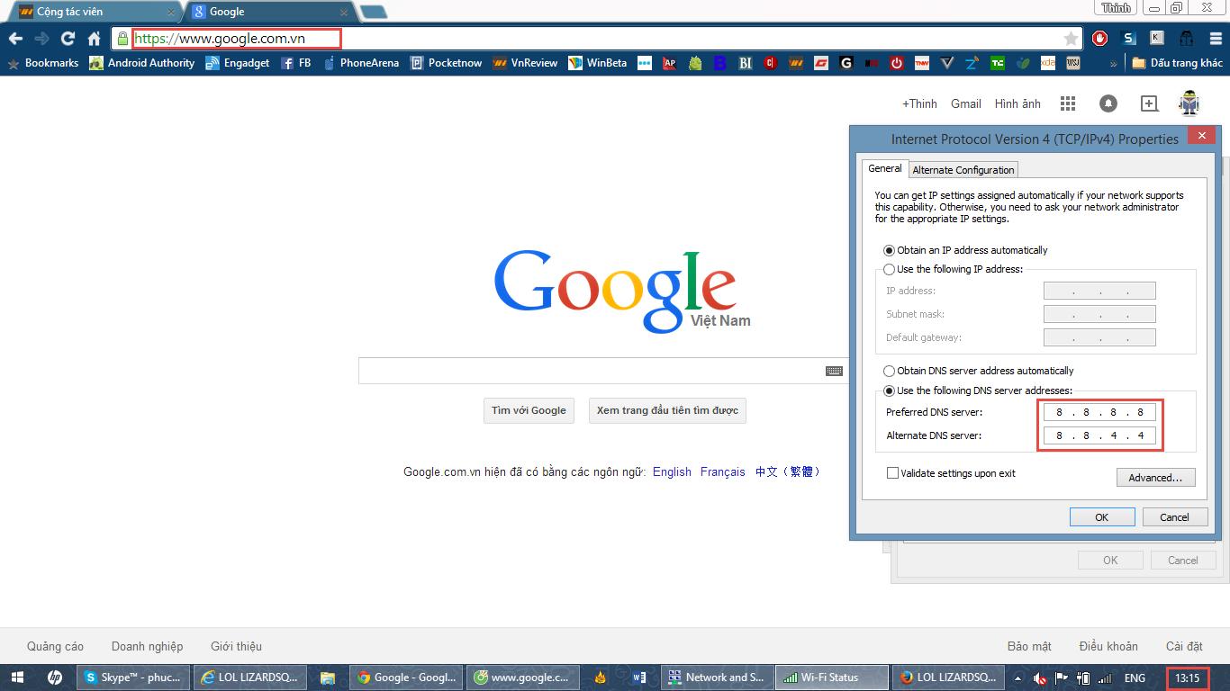 Google Việt Nam bị chuyển hướng