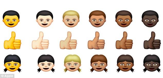 Vì sao emoji của Apple có màu vàng?