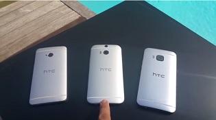 Lộ diện video trên tay HTC One M9, đọ dáng với M7 và M8