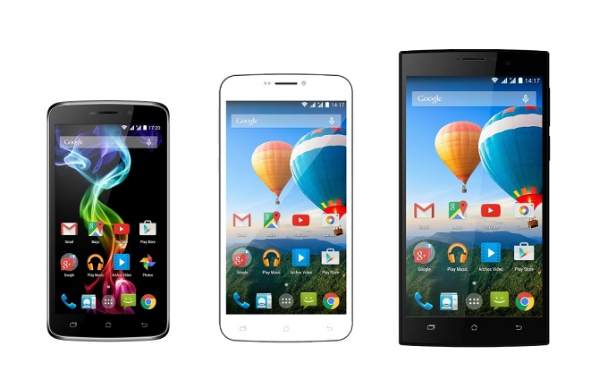 Archos giới thiệu loạt smartphone mới tại MWC 2015