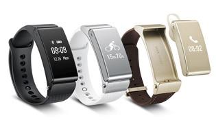 Huawei giới thiệu bộ đôi vòng đeo tay Talkband B2 và N1