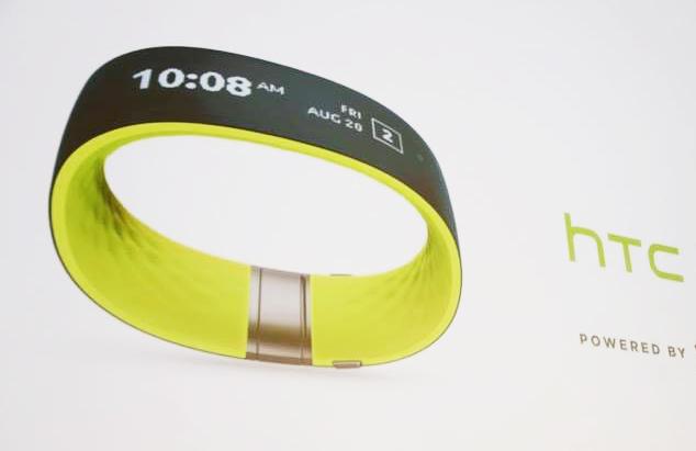 HTC ra mắt vòng đeo tay Re Grip, màn hình cảm ứng cong