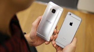 So sánh nhanh HTC One M9 và iPhone 6