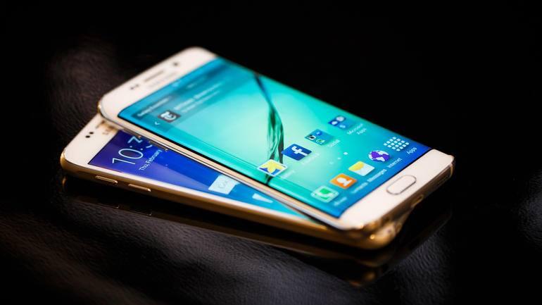 Cận cảnh Samsung Galaxy S6 Edge