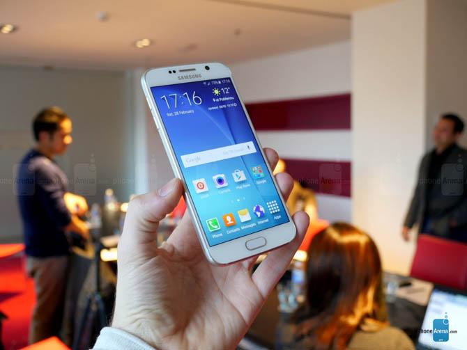 Chiêm ngưỡng cận cảnh vẻ đẹp quyến rủ của Samsung Galaxy S6