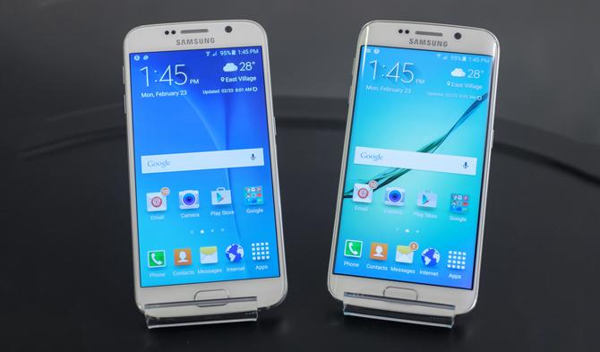 Samsung Galaxy S6 và người anh em song sinh Samsung Galaxy S6 Edge