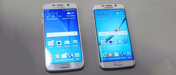 Samsung ra mắt bộ đôi Galaxy S6 và S6 Edge: khung kim loại, hai mặt kính, màn hình 2K