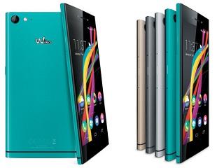Bộ đôi smartphone dùng vỏ kim loại của Wiko