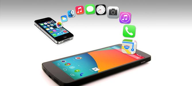 Sắp có tính năng chia sẻ dữ liệu giữa iOS và Android