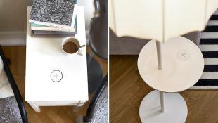 IKEA trình làng nội thất tích hợp sạc không dây cho di động