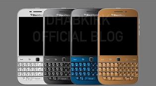 BlackBerry giới thiệu 3 màu mới cho BlackBerry Classic là trắng, xanh và vàng