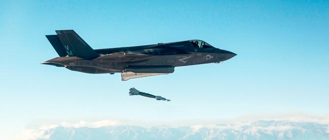 """Siêu phi cơ F-35B của Mỹ """"bất lực"""" với vũ khí tối tân"""