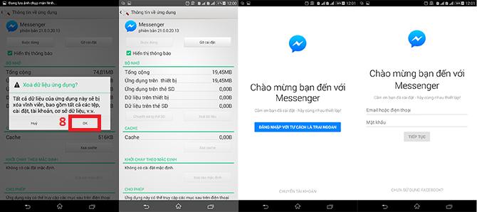 Hướng dẫn đăng xuất Facebook Messenger trên iOS, Android và Windows Phone