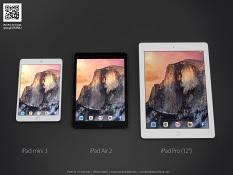iPad Pro có cổng USB 3.0, sạc nhanh, cuối năm mới bán?