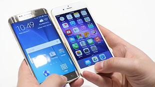 So tốc độ đọc vân tay của Samsung Galaxy S6 Edge và iPhone 6