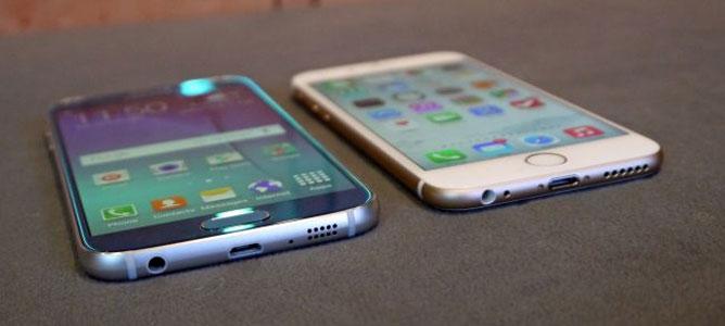 """10 tính năng bộ đôi Galaxy S6 """"ăn đứt"""" bộ đôi iPhone 6"""