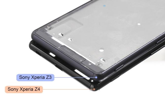 Rò rỉ ảnh Sony Xperia Z4 khung kim loại đọ dáng với Xperia Z3