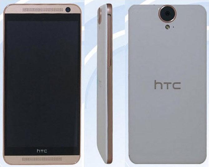 HTC One E9 lộ diện với cụm camera lớn ở phía sau