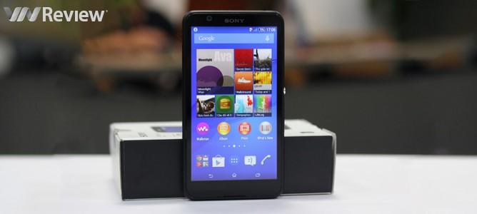 Trên tay Sony Xperia E4 chính hãng