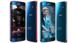 Galaxy S6 Edge phiên bản siêu anh hùng Avengers