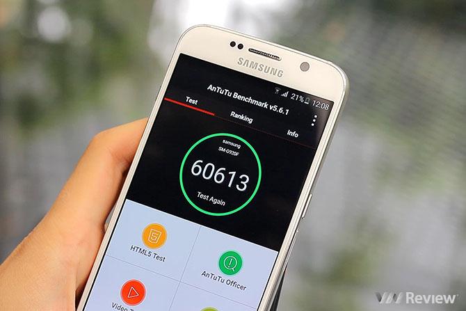 Trên tay và đánh giá nhanh Samsung Galaxy S6 tại Việt Nam