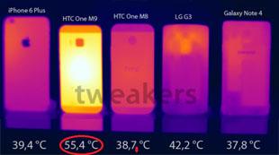 Mẫu thử HTC One M9 quá nóng khi benchmark, Snapdragon 810 là thủ phạm?