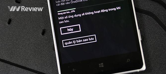 [người mới dùng] Hướng dẫn sao lưu toàn bộ dữ liệu trên Windows Phone