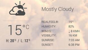 HTC đưa ứng dụng thời tiết lên Google Play