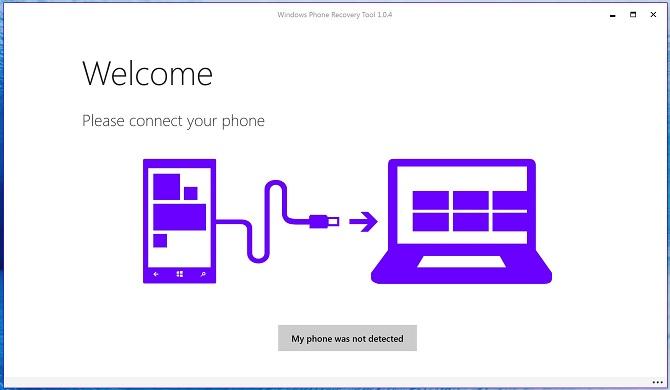 Microsoft cập nhật Software Recovery Tool giúp khôi phục điện thoại Windows Phone