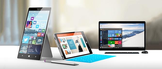 Microsoft công bố cấu hình chính thức cho Windows 10 và Windows Mobile 10