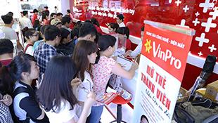 Siêu thị điện máy của Vingroup đắt hàng ngày khai trương
