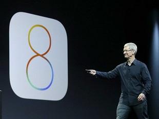 iOS 8 đã có mặt trên 77% iDevice